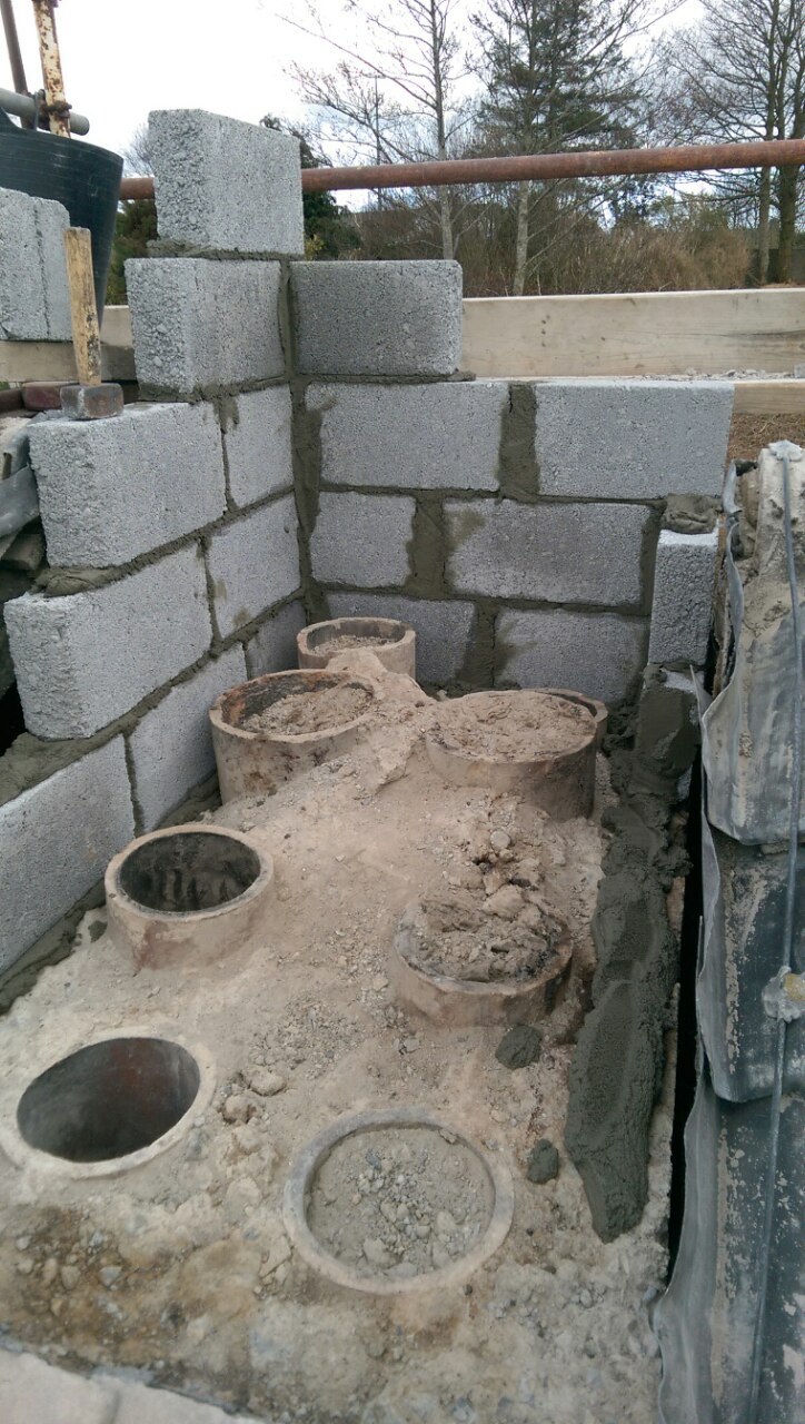 chimney rebuild and relining